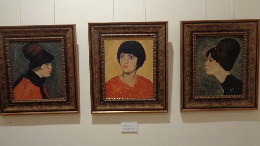 Актрисата Катя Паскалева – портретен триптих (60-те години)