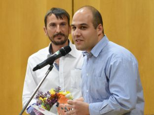 """Лазар Налбантов - носител на награда от  класацията """"Надпяване"""""""
