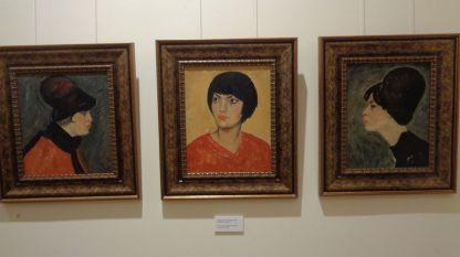 Актрисата Катя Паскалева – портретен триптих на Златю Бояджиев (60-те години)