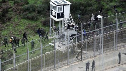 Ограда по границата на Сеута