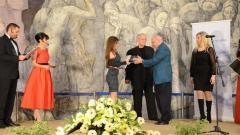 Нора Георгиева получи отличието на официалната церемония по връчване на годишните награди на Българското национално радио Сирак Скитник за 2014 година