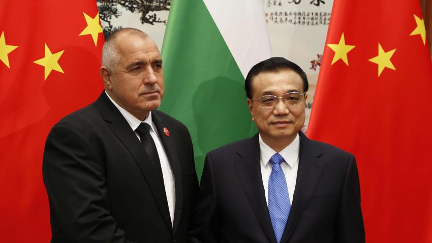 Премиерът Бойко Борисов се срещна с китайския си колега Ли Къцян в Пекин.