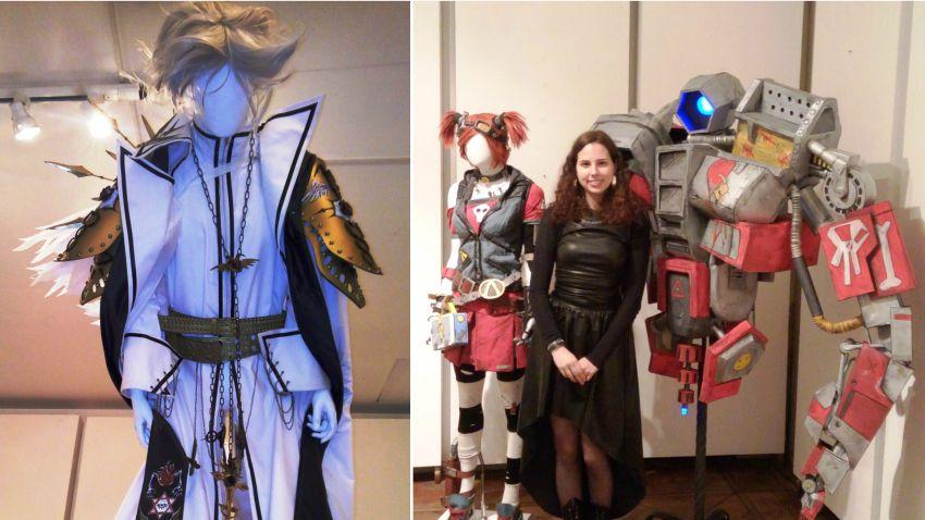 Някои от експонатите в изложбата