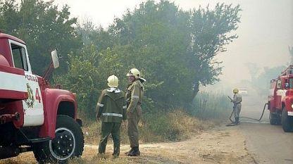 Продължава работата по ликвидирането на пожарите в Южна България