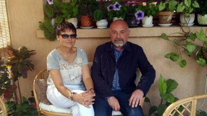Филипа Филипова и д-р Петър Димков