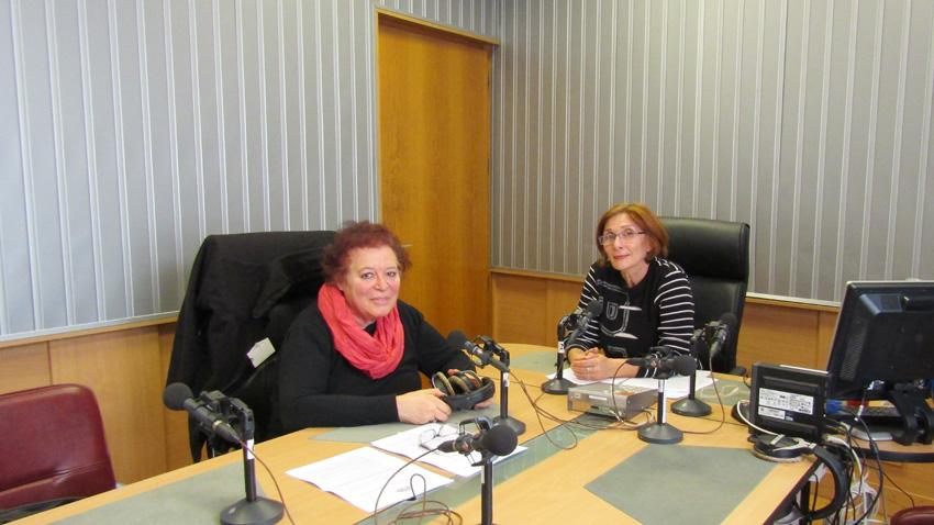 Боряна Кадмонова (вляво) и Цвета Николова.
