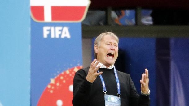 Селекционерът на Дания Оге Харейда бе доволен от играта на