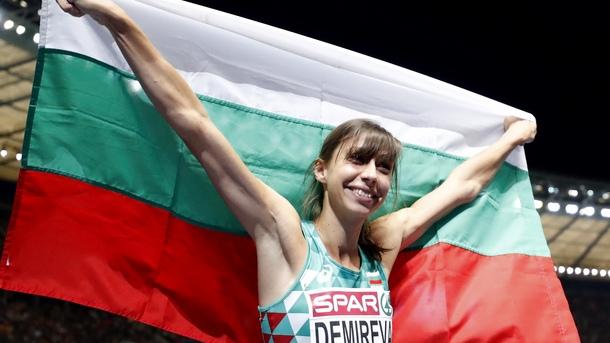 Мирела Демирева спечели сребърен медал