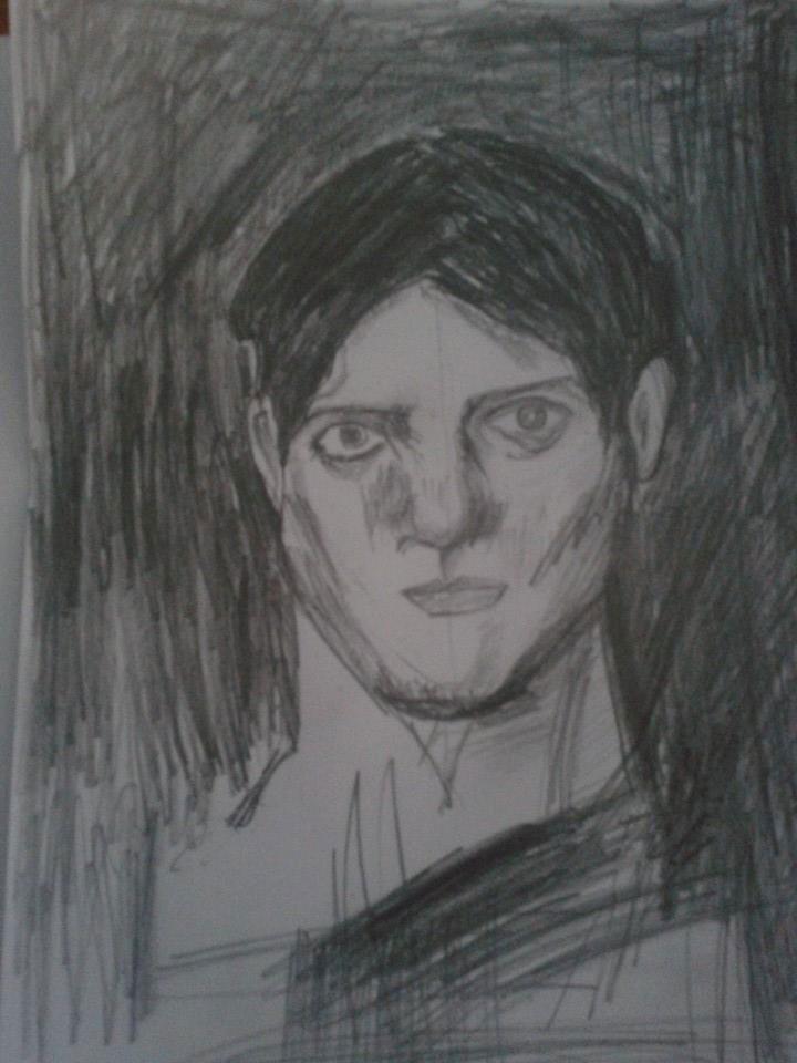 Първият портрет, нарисуван от Николай, Снимка: Иванка Петрова