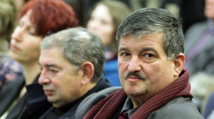 Председатель организации евреев в Болгарии «Шалом» Максим Бенвенисти