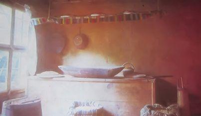 The bread-making room in the Oslekov house, Koprivshtitsa, 1856