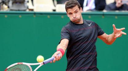 Григор Димитров се класира за третия кръг на  тенис турнира в Монте Карло
