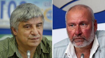 Проф. Пламен Павлов и проф. Николай Овчаров