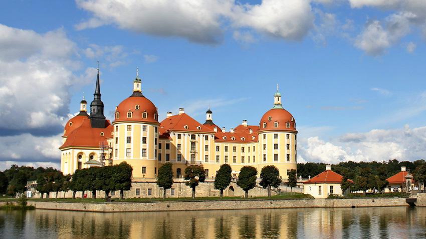 замъкът Морицбург, Германия