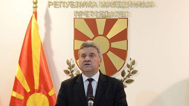 Македонският президент Георге Иванов оповести ветото върху закона за употреба на езиците в обръщение към нацията.