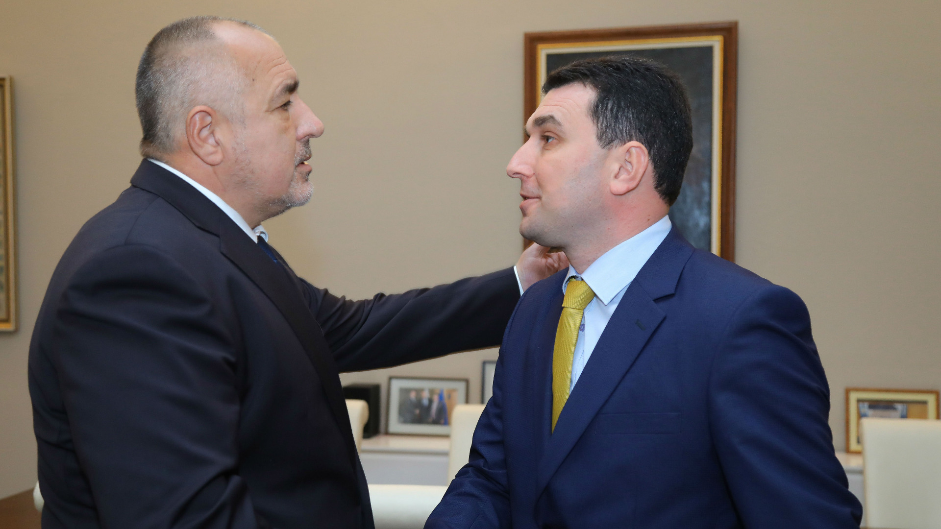 Бойко Борисов и Валентин Димитров