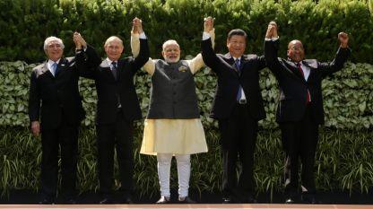 Президентите на Бразилия, Русия, Индия, Китай и Република Южна Африка