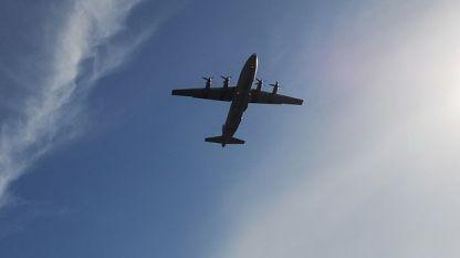 Ан-26 в полет