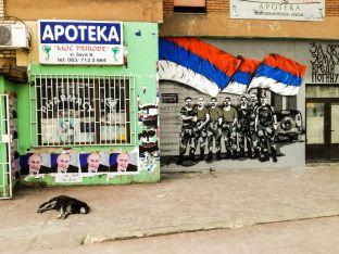 Графити в Северна Митровица, Косово