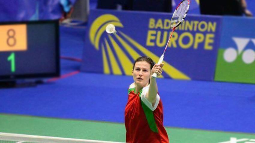 Linda en en el campeonato europeo por equipos en Kazan, Rusia
