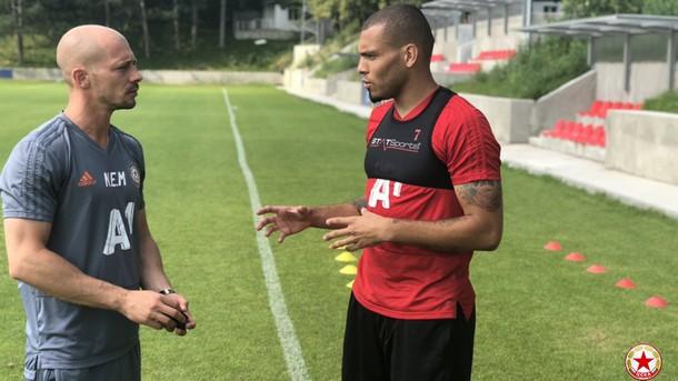 Новият нападател в тима ни Мауридес проведе първа тренировка със