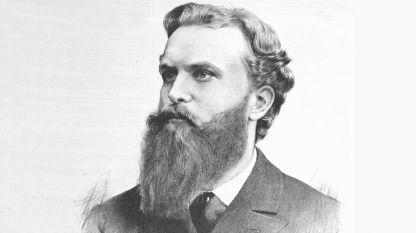 Константин Иречек, графика от Ян Вилимек, 1889 г.