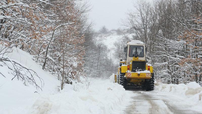 Отменено е бедственото положение в община Видин след обилния снеговалеж