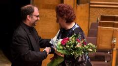 Найден Тодоров връчва приза на Вяра Михайлова