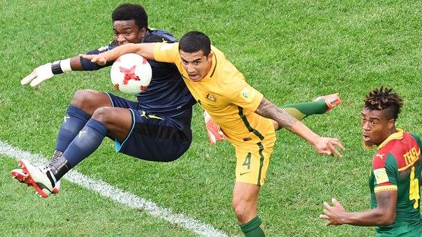 Австралия и Камерун не се победиха в Русия - 1:1