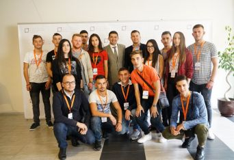 Албанската група с д-р Милен Врабевски на есенния семинар 2017 година