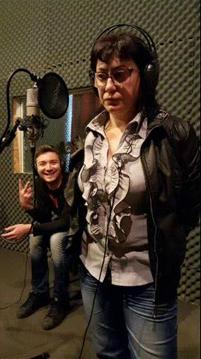 Недка Симеонова и Валентин Вълчев в студиото