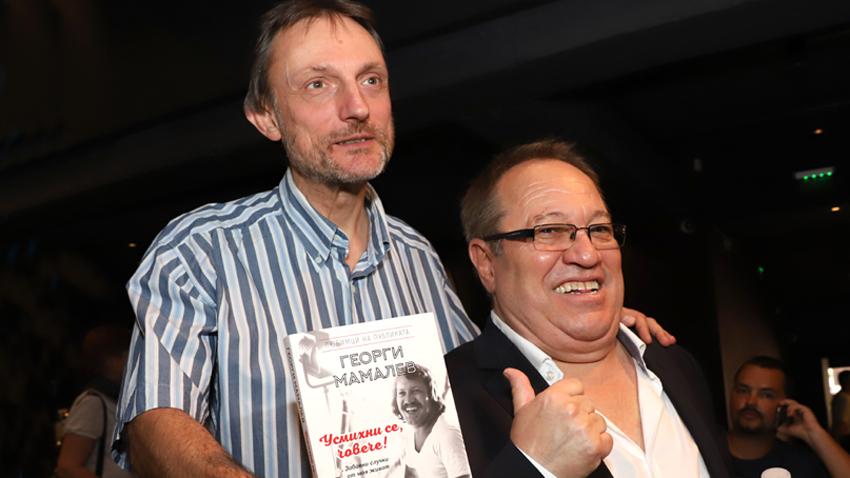 Весел Цанков (вляво) и Георги Мамалев
