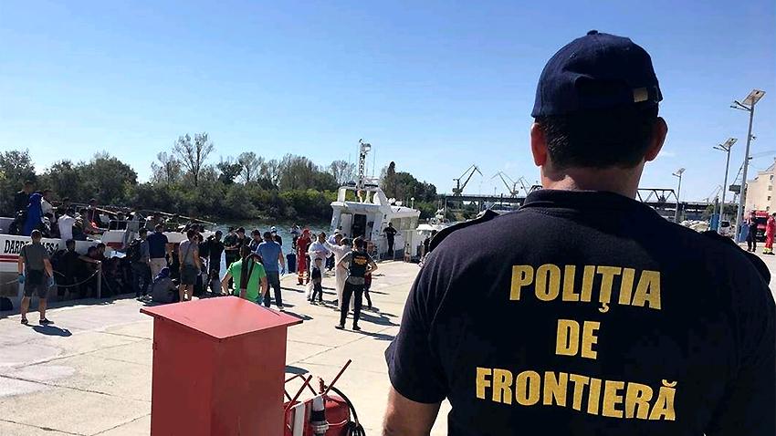 Fotografi: politiadefrontiera.ro