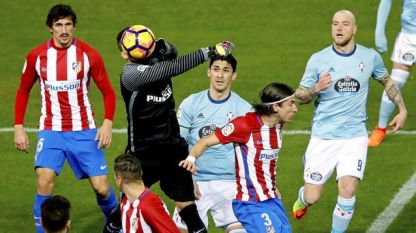 """Атлетико"" (М) излъга ""Селта"" в последните минути"