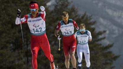 Паралимпийците в ски бягането