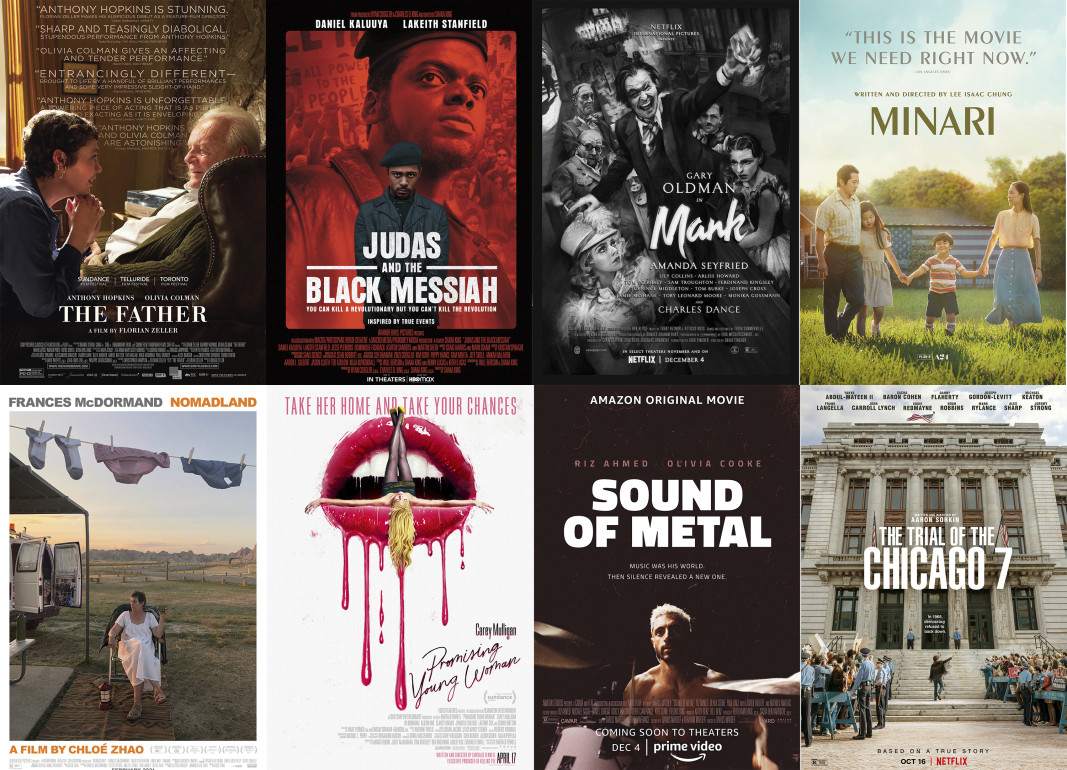 Номинираните за Оскар в категорията Най-добър пълнометражен филм.