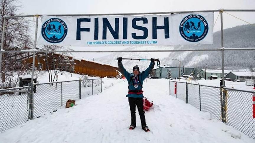 Победителят в най-студения ултрамаратон в света