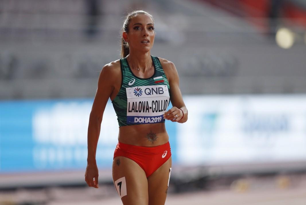 Ивет Лалова има сили да стигне финала на 200 м.