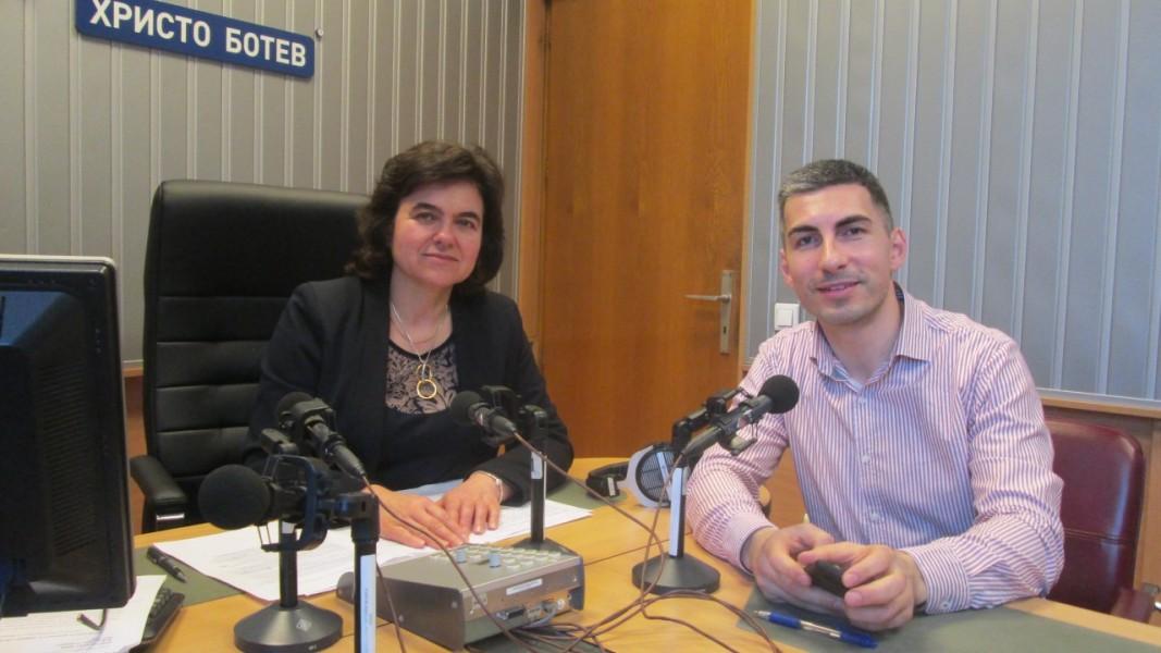 Зам.-кметът на Столичната община Владимир Данаилов и Нина Цанева