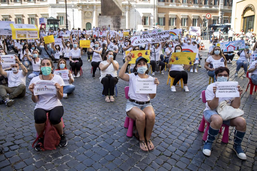 Един от протестите в Италия