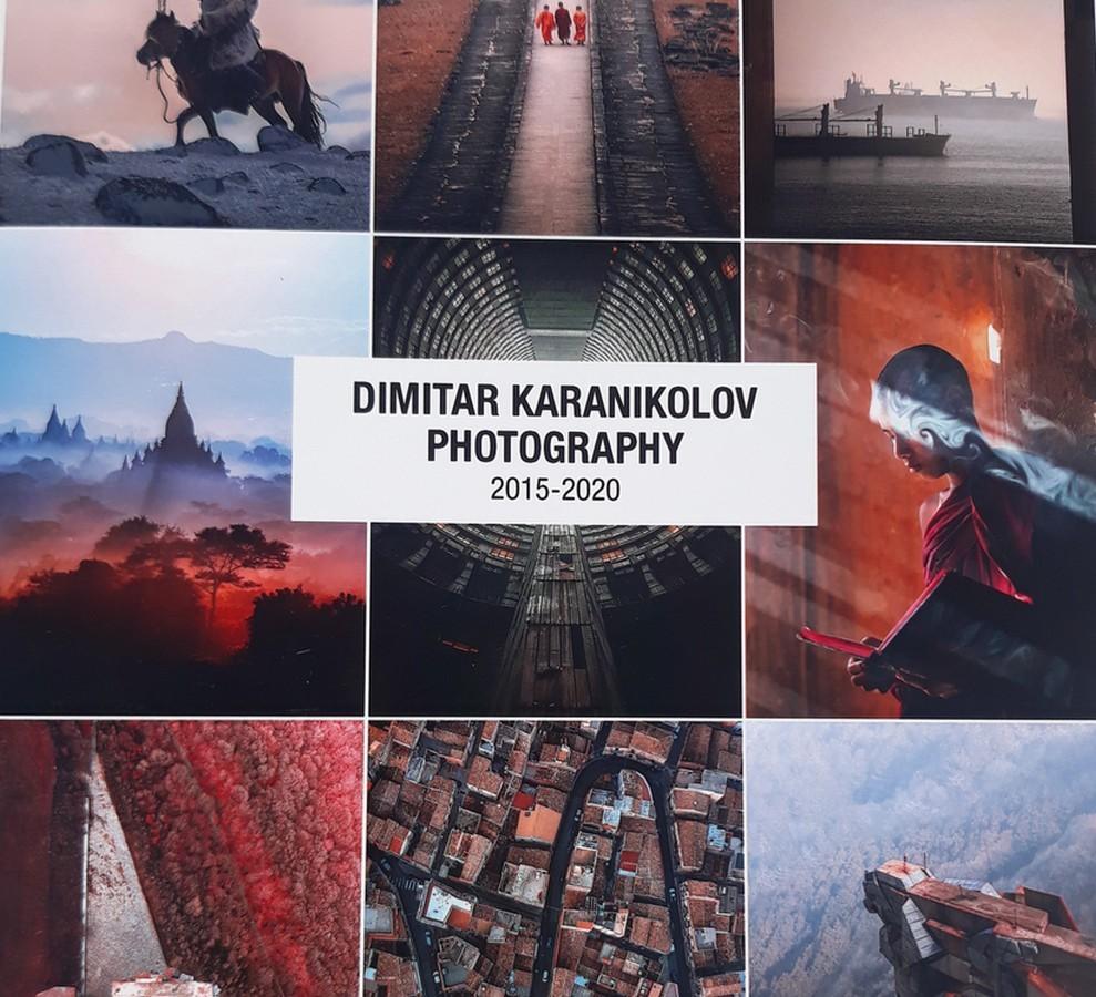 Албум на Димитър Караниколов      Снима: Славена Илиева