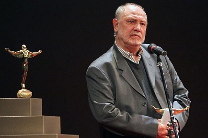 """Красимир Спасов с """"Икар"""" за изключителен творчески принос, 2012"""