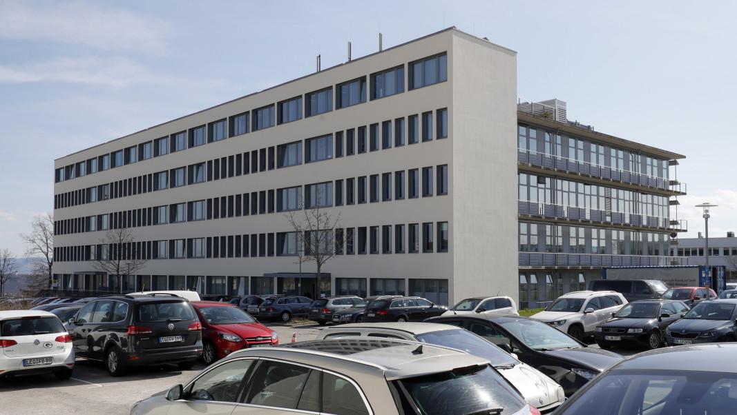 Централата на биотехнологичната компания в Тюбинген.          Снимка: ЕПА/БГНЕС
