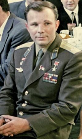 Гагарин в Москва през 1963 г., гостува в предаване на Първи канал на Централната телевизия