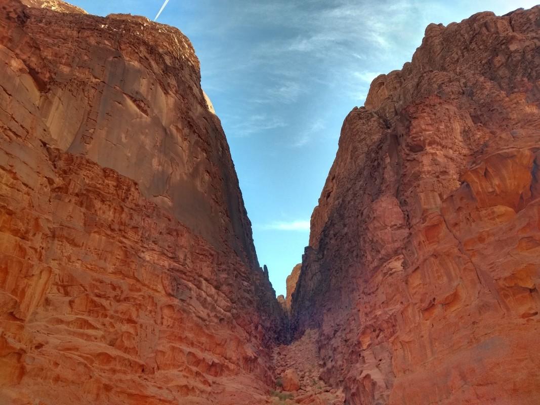 Скалите във Вади Рум, Йордания