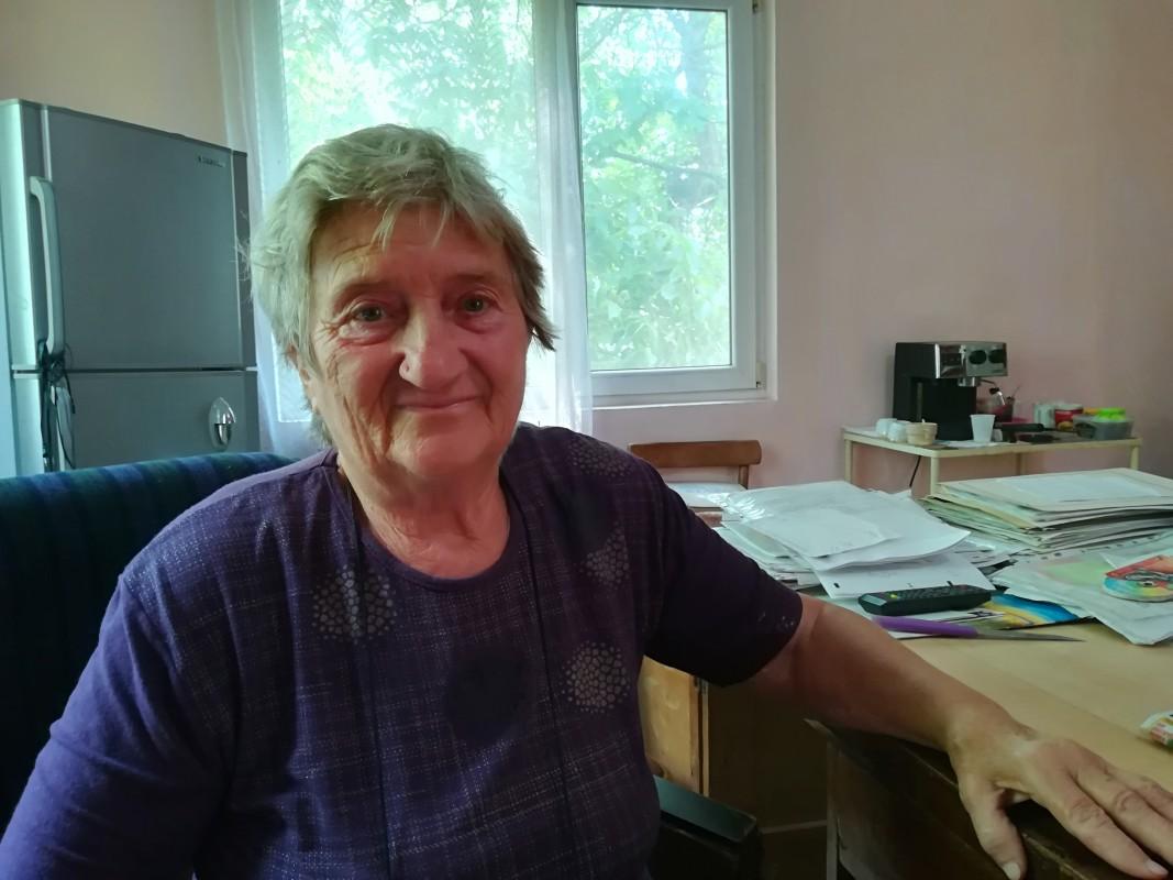 Кменският наместник в село Толовица Виолета Стоянова