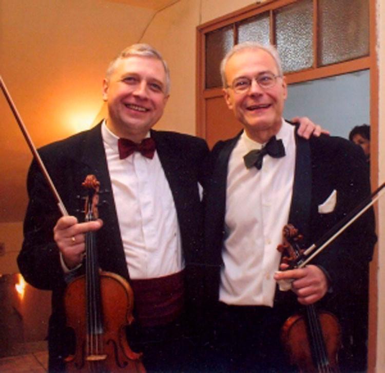 Цигулковото дуо Ангел Станков и Йосиф Радионов