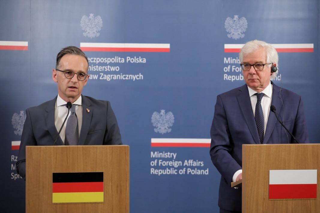 Министрите Маас и Чапутович - 16 юни 2020 г.