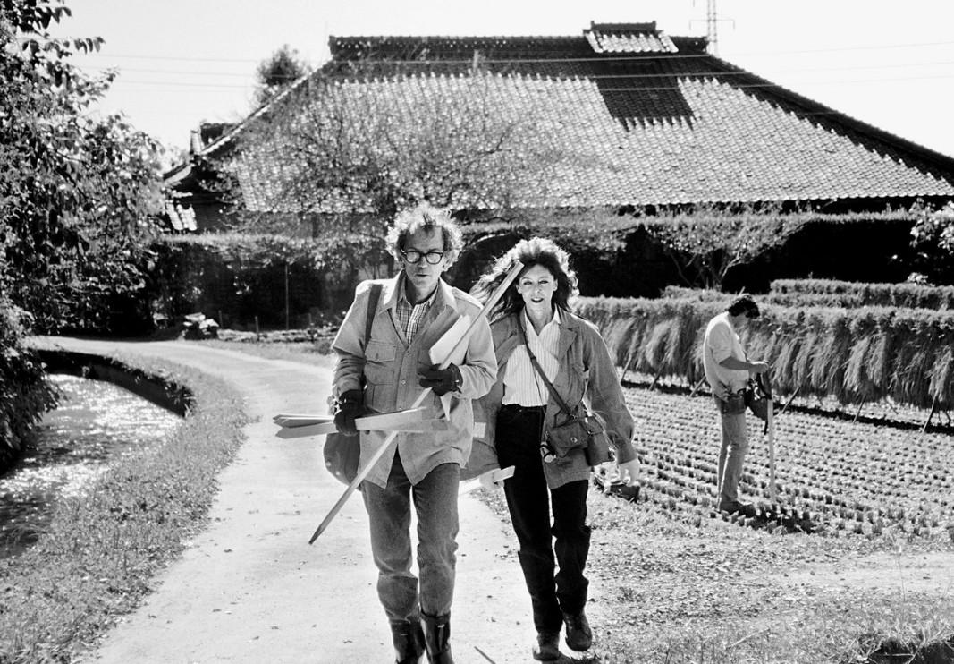 Кристо и Жан Клод      Снима: Волфганг Фолц