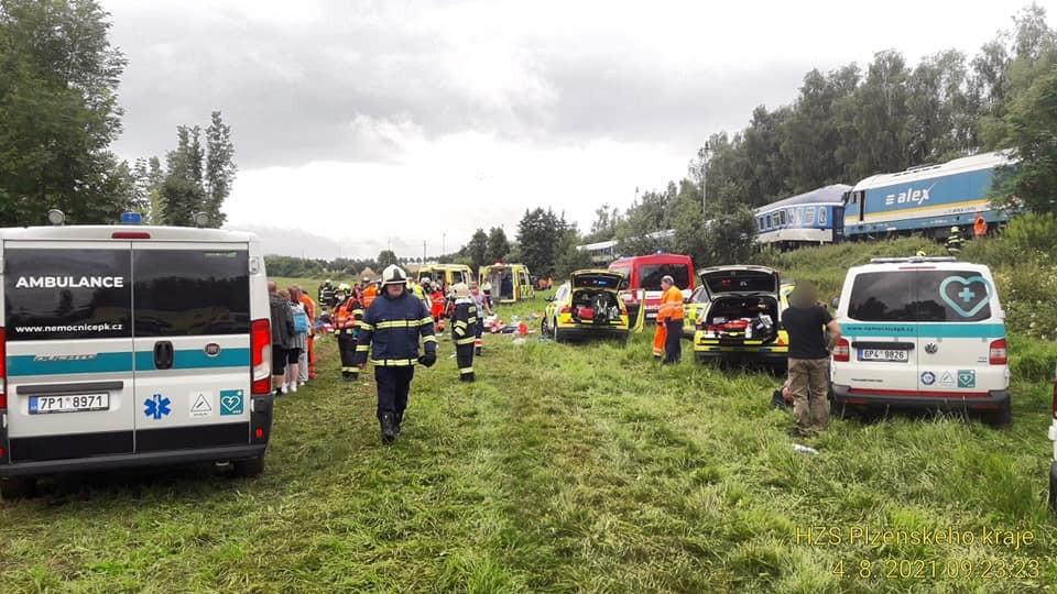 Снимка: Противопожарна служба на Чехия
